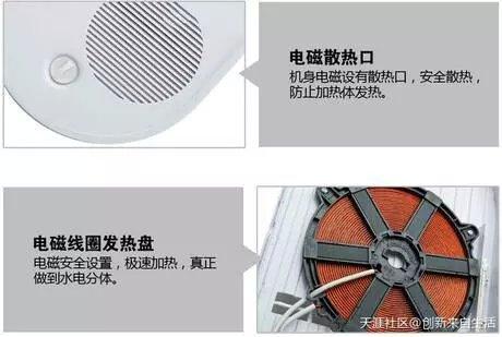 百威皇磁能电热水器H11S6图片九