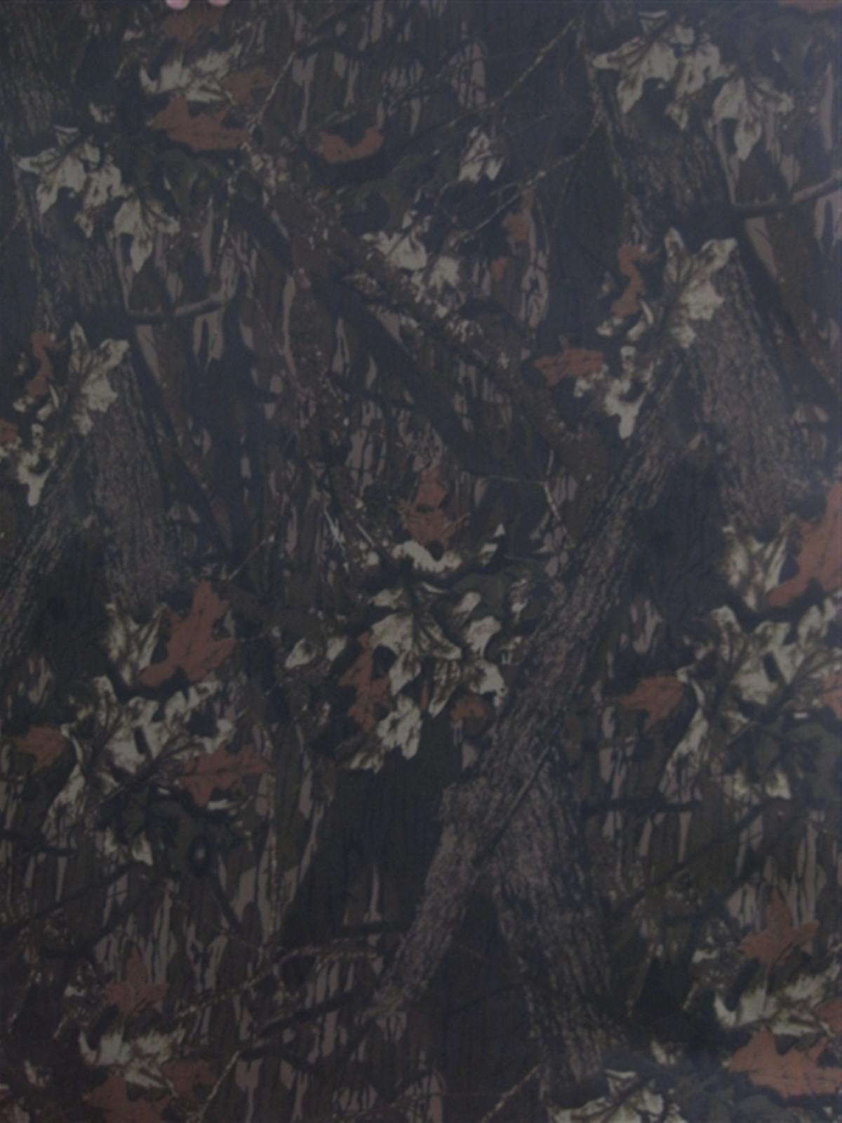 600D大树叶 大森林树叶花 牛津布涂层pvc图片四