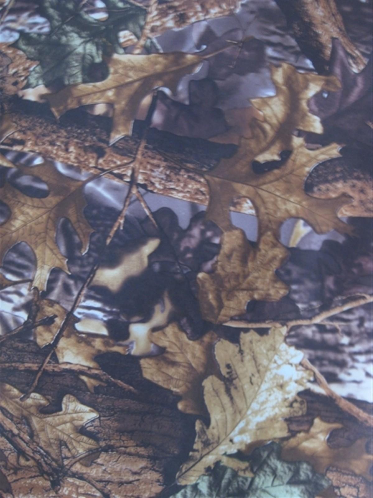 600D大树叶 大森林树叶花 牛津布涂层pvc图片十