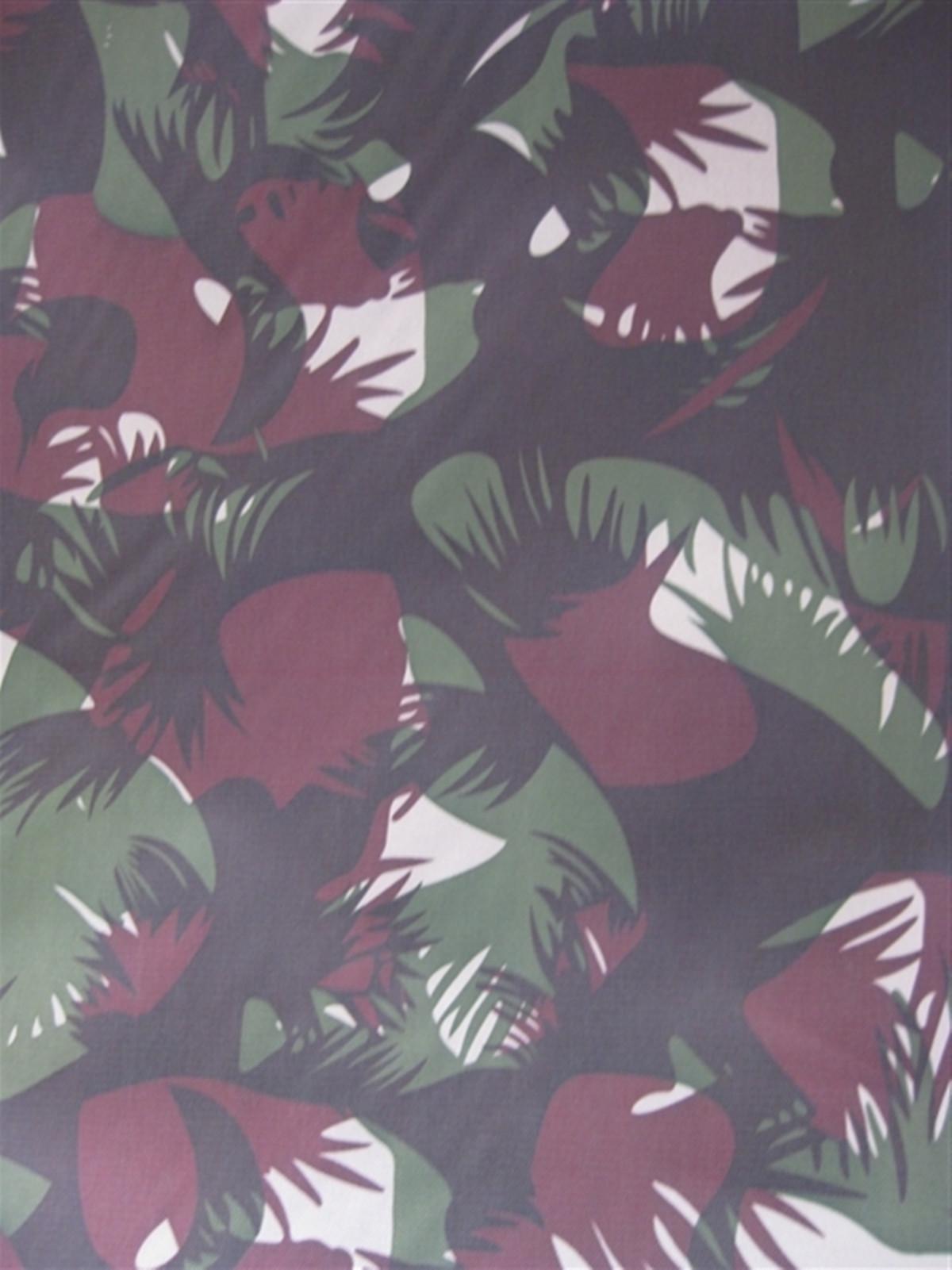 600D大树叶 大森林树叶花 牛津布涂层pvc图片十二