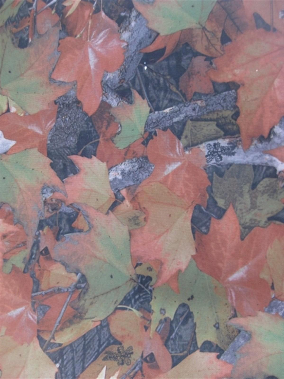 600D大树叶 大森林树叶花 牛津布涂层pvc图片十三