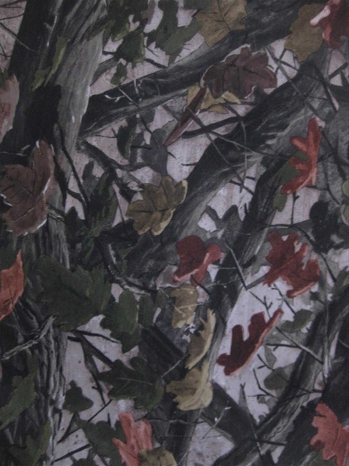 600D大树叶 大森林树叶花 牛津布涂层pvc图片二十五