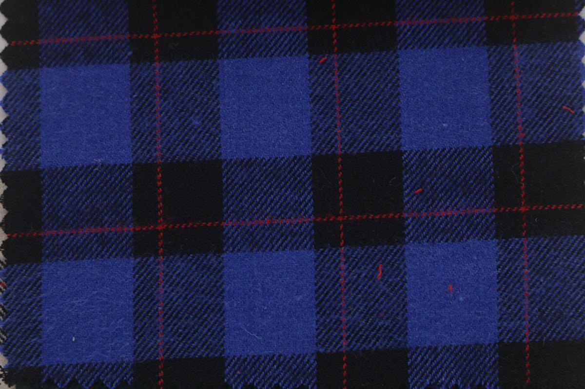 厂家批发 秋冬全棉色织布 磨毛格子布 服装衬衫面料图片五