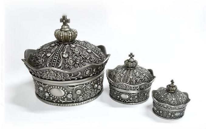 【俄罗斯】皇冠首饰盒图片二