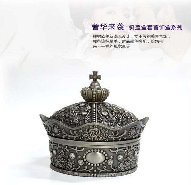 【俄罗斯】皇冠首饰盒图片三