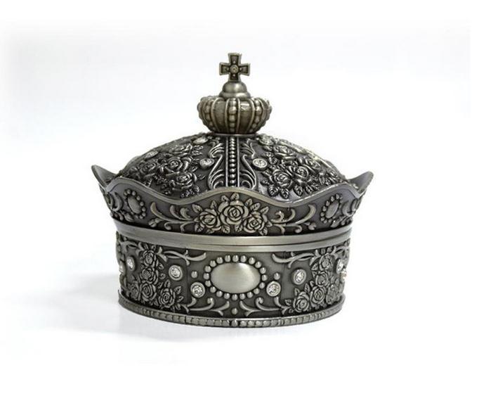 【俄罗斯】皇冠首饰盒图片一