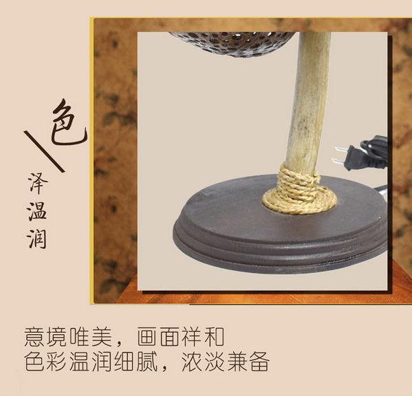 【泰国进口】纯手工 椰子壳灯图片五