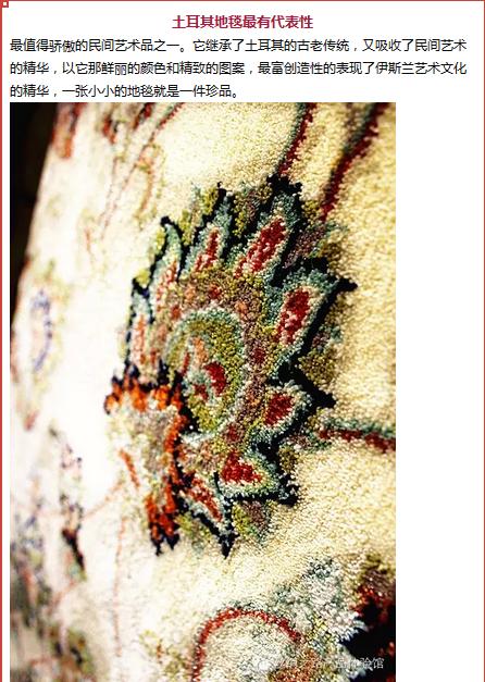 【土耳其】地毯 丝质图片十
