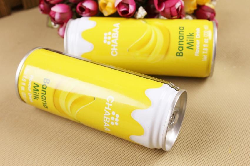 【泰国】芭提娅听装含奶香蕉汁饮料图片二