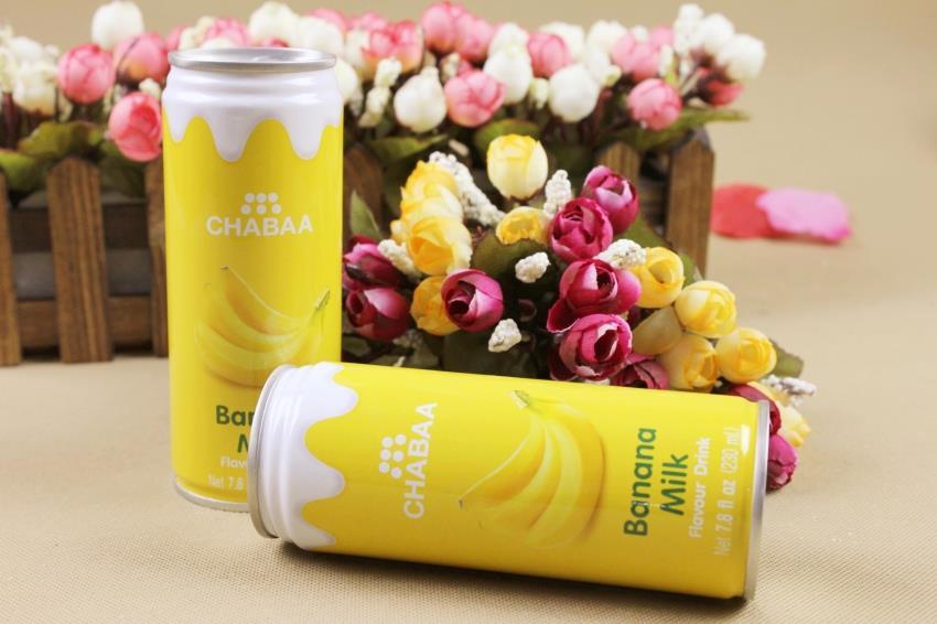 【泰国】芭提娅听装含奶香蕉汁饮料图片四