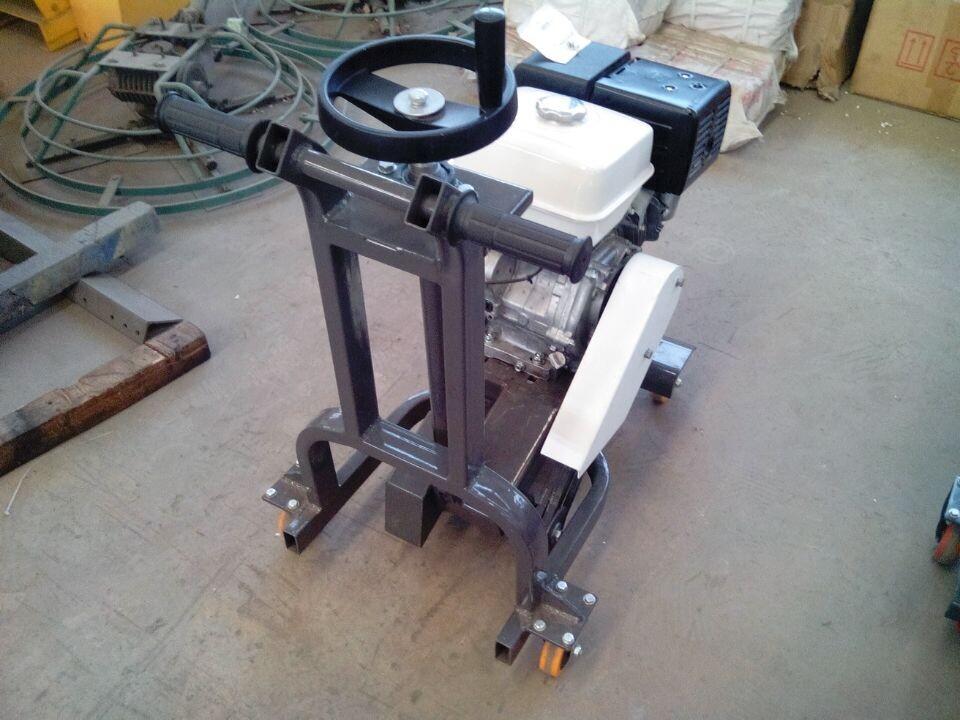 开槽机工程介绍。马路开槽机。沥青开槽机图片二