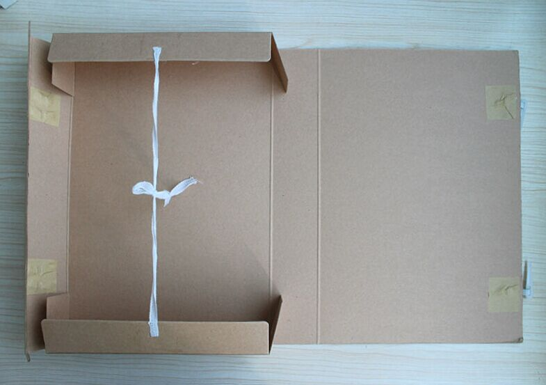 BM 无酸纸3.5cm档案盒牛皮会计人事档案盒图片三