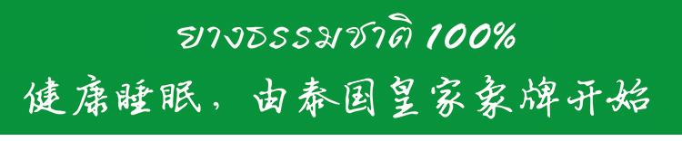【泰国】皇家象牌乳胶美容枕图片二