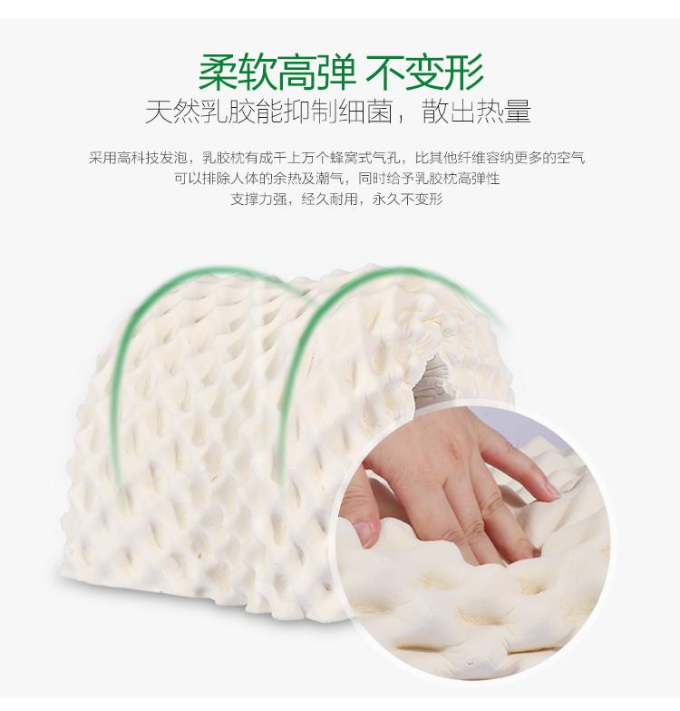 【泰国】皇家象牌乳胶美容枕图片十八