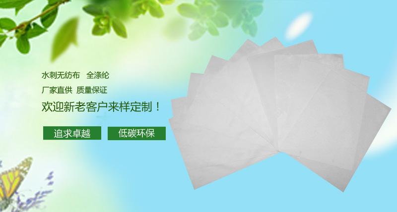 【团购】100g全涤 水刺无纺布图片二