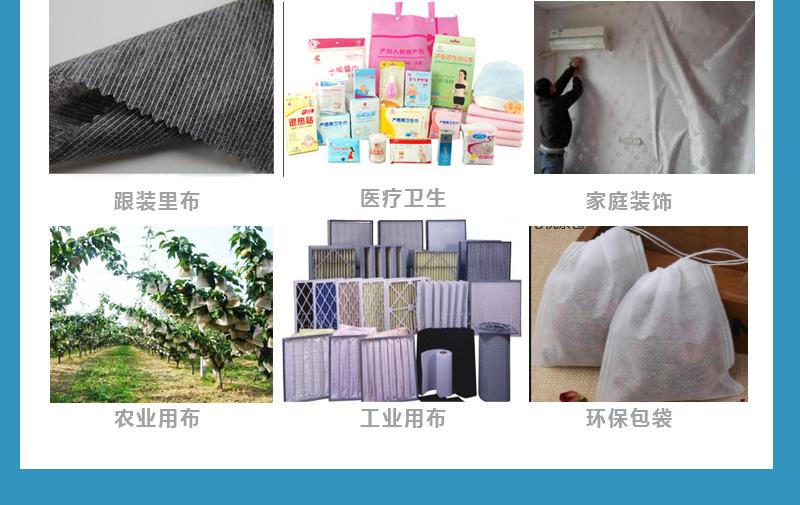 【团购】25g 涤纶不亲水无纺布1025A图片七