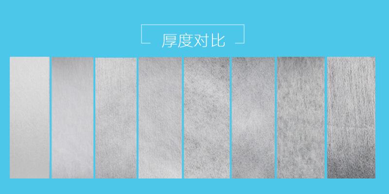 【团购】25g涤纶亲水无纺布1025S图片五