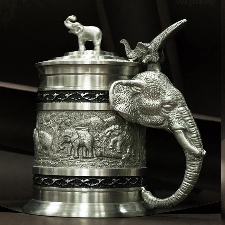 泰国 特色 商务礼品 工艺品 礼盒套装 锡金壶 锡图片一