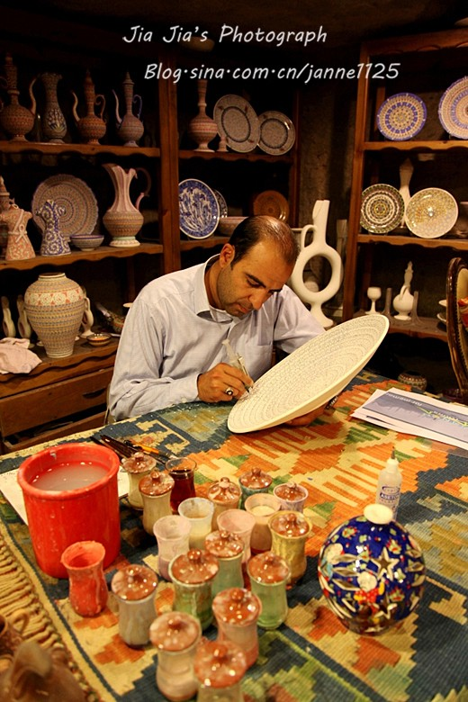 土耳其精品陶艺工艺品 家装摆件图片八