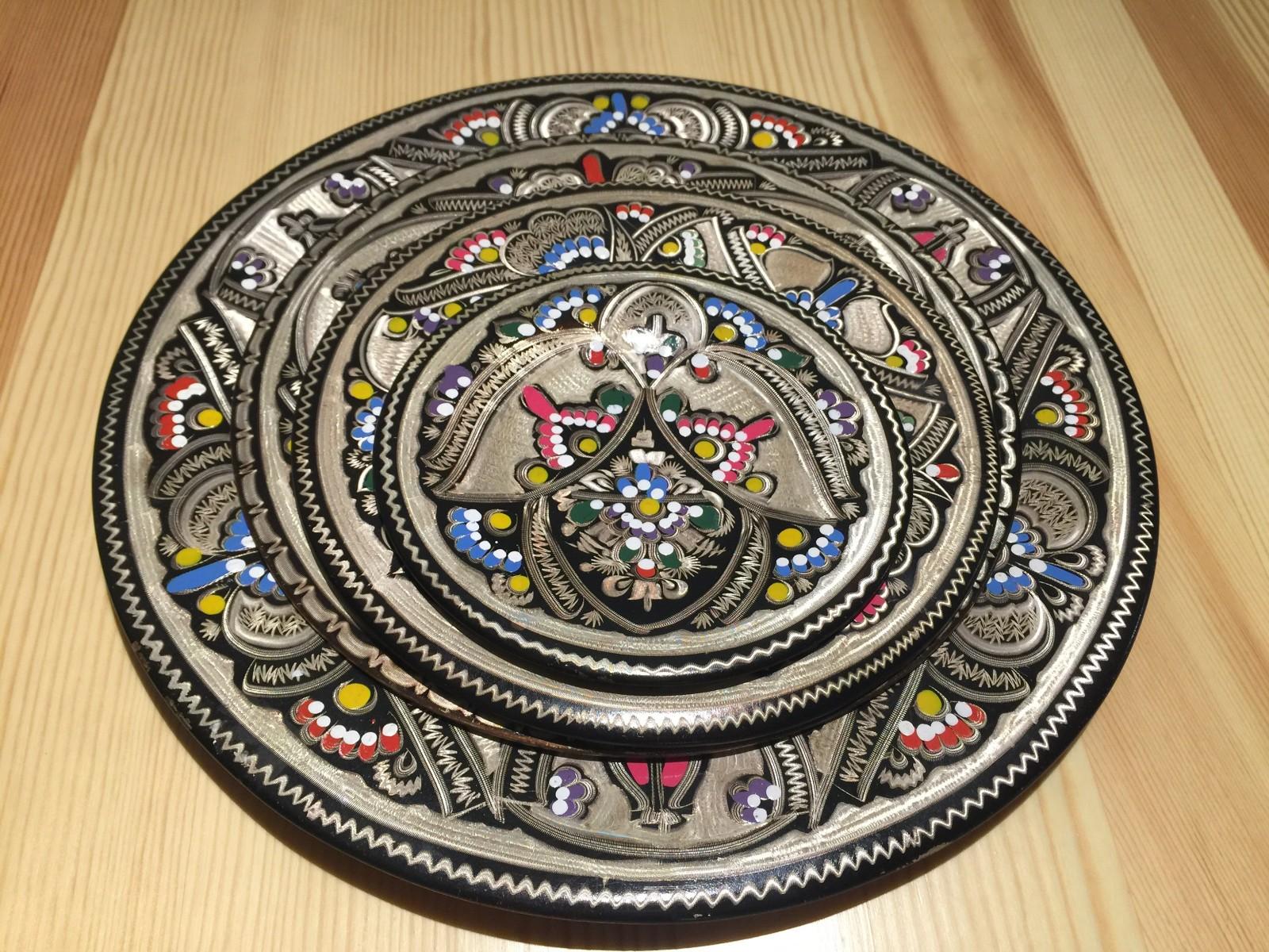 土耳其精品工艺彩盘 家居装饰 摆件图片一