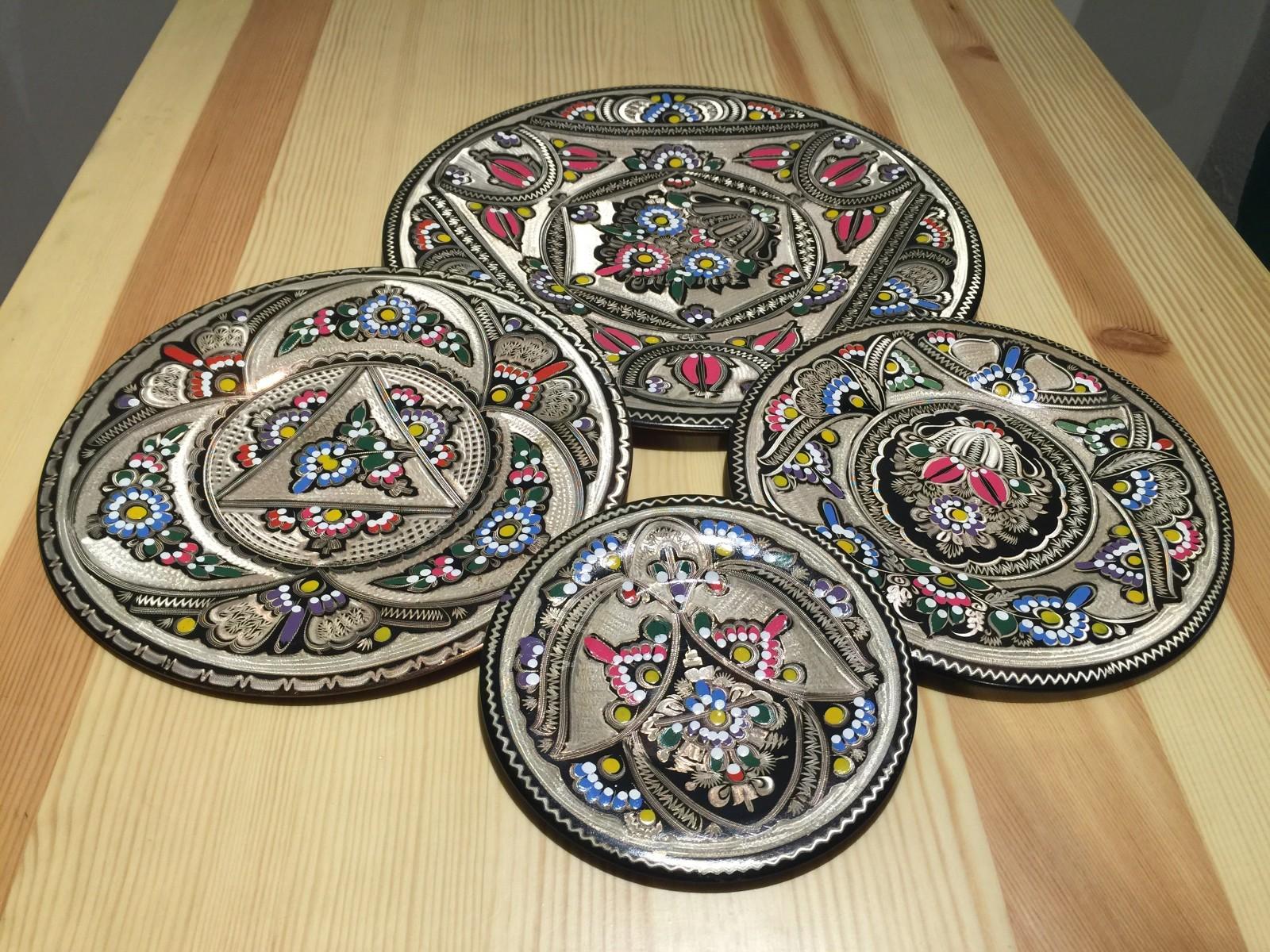 土耳其精品工艺彩盘 家居装饰 摆件图片二