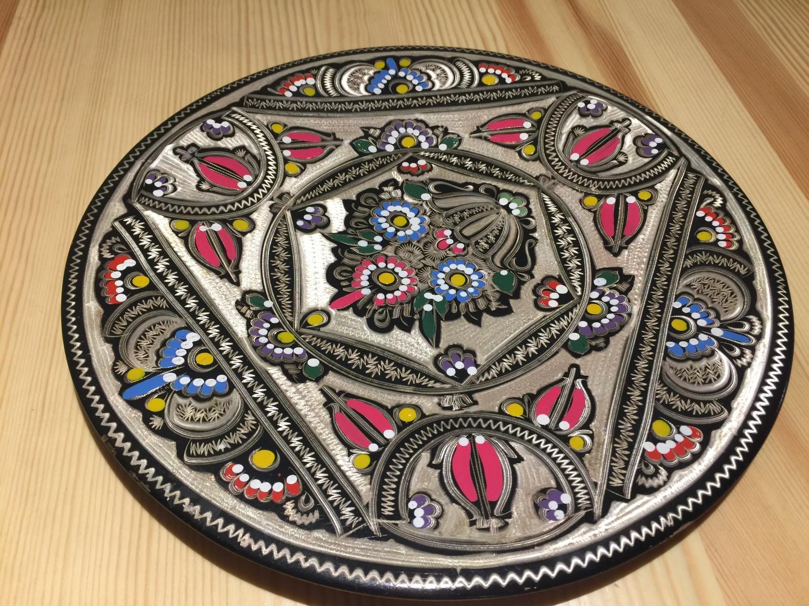 土耳其精品工艺彩盘 家居装饰 摆件图片三