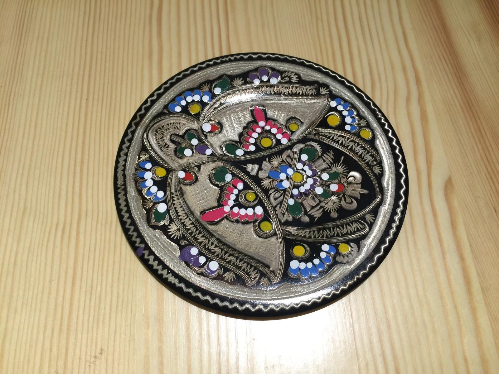 土耳其精品工艺彩盘 家居装饰 摆件图片六