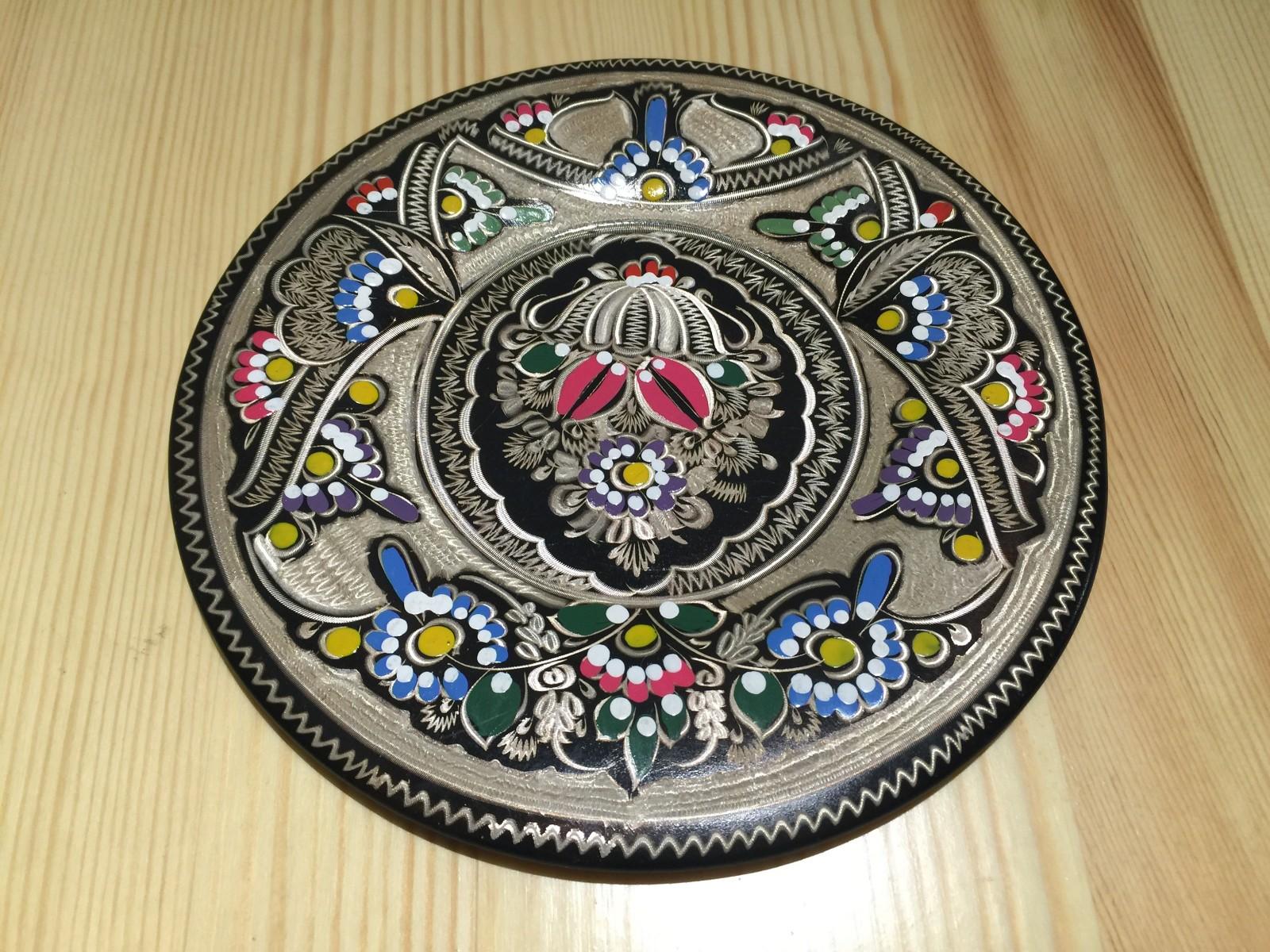 土耳其精品工艺彩盘 家居装饰 摆件图片五