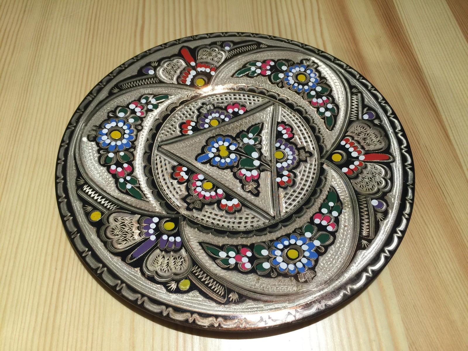 土耳其精品工艺彩盘 家居装饰 摆件图片四