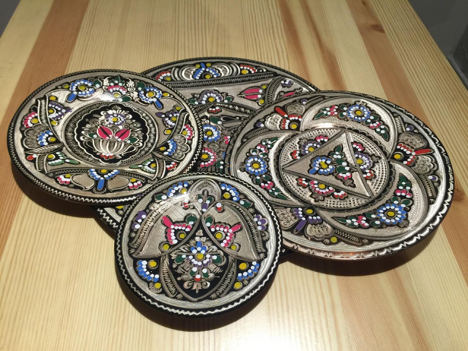 土耳其精品工艺彩盘 家居装饰 摆件图片七