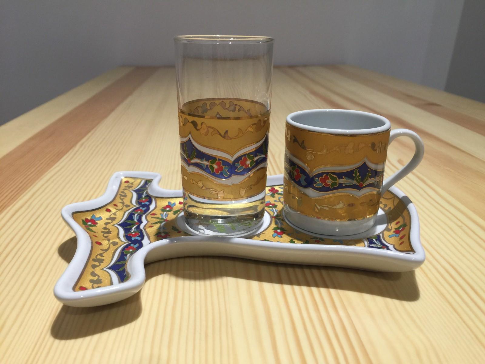土耳其精品陶艺工艺品 家装摆件 咖啡杯图片一