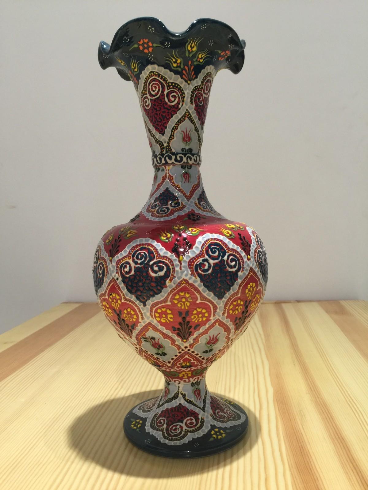 土耳其精品陶艺工艺品 家装摆件 花瓶图片三