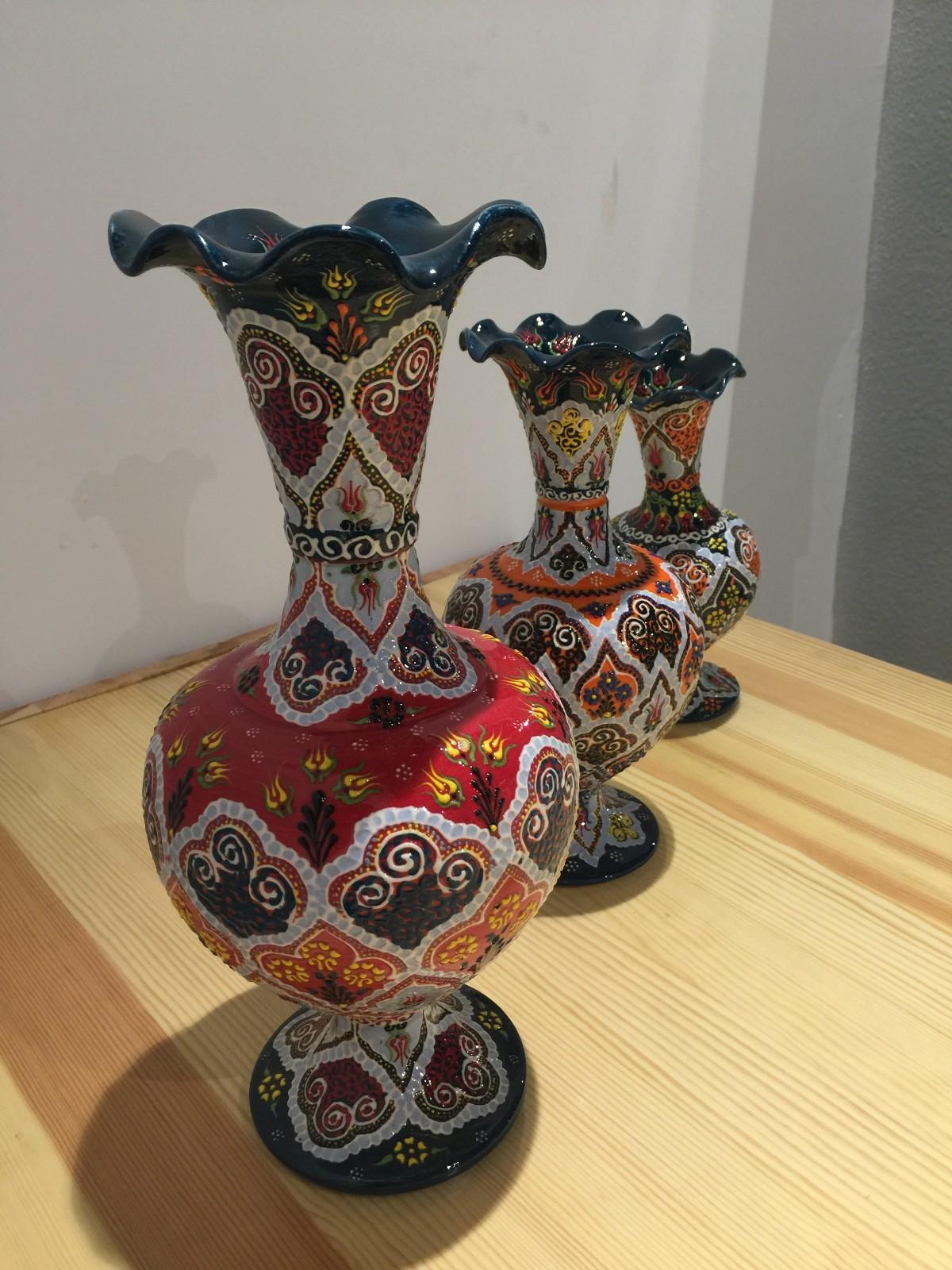 土耳其精品陶艺工艺品 家装摆件 花瓶图片二