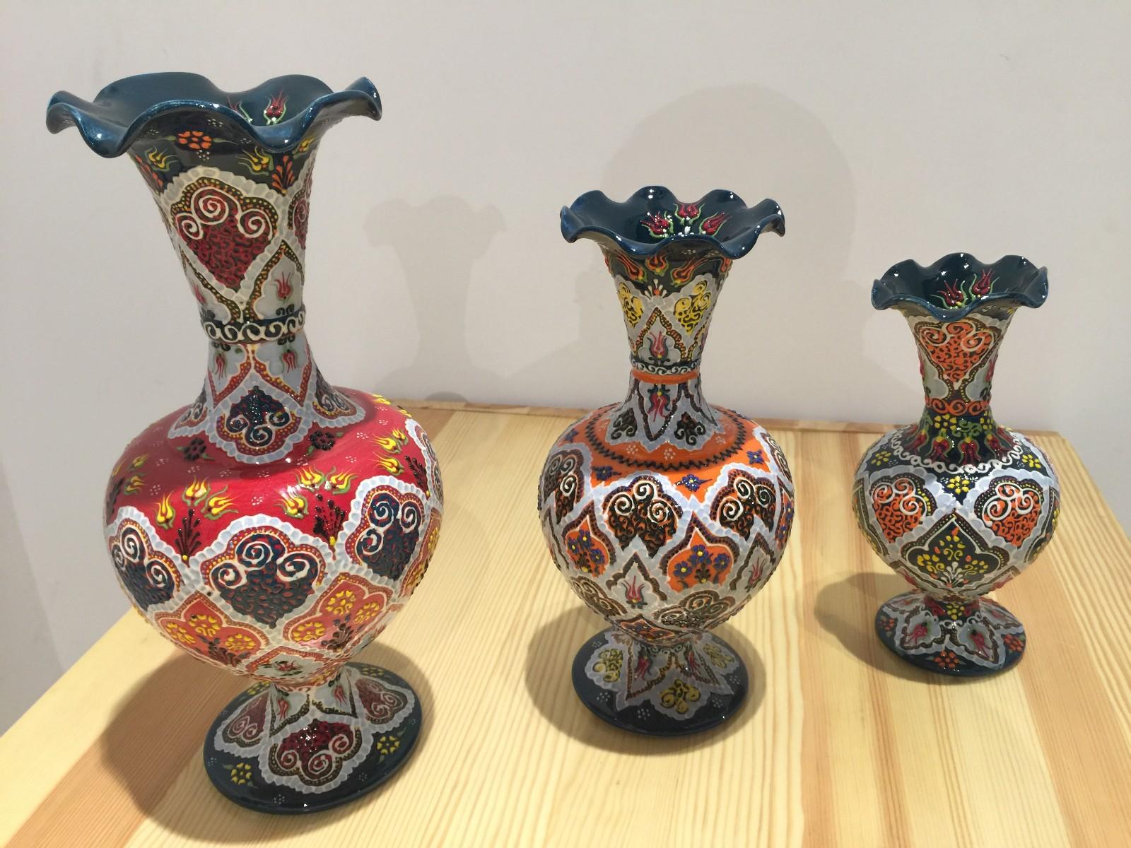 土耳其精品陶艺工艺品 家装摆件 花瓶图片一