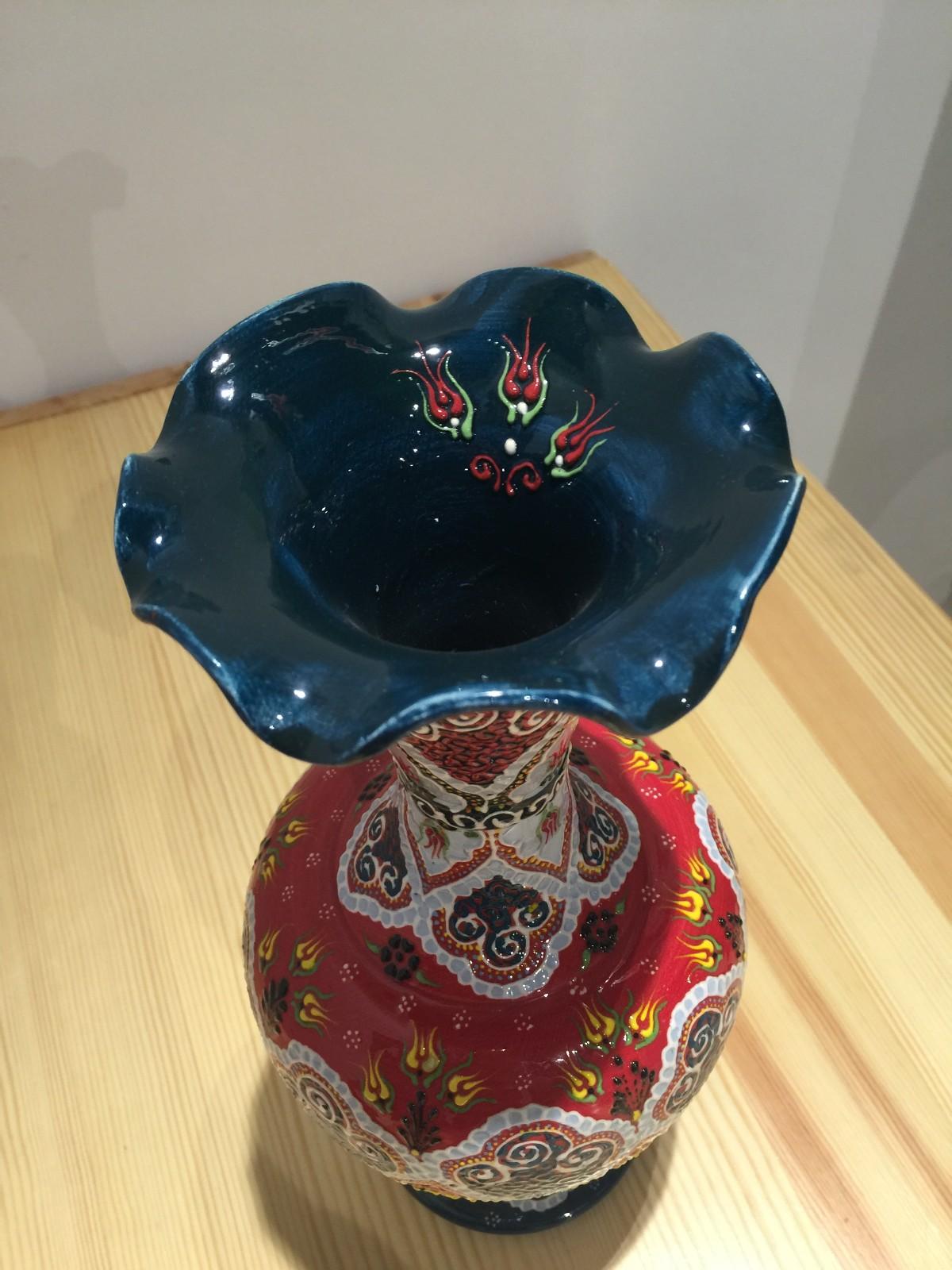土耳其精品陶艺工艺品 家装摆件 花瓶图片四