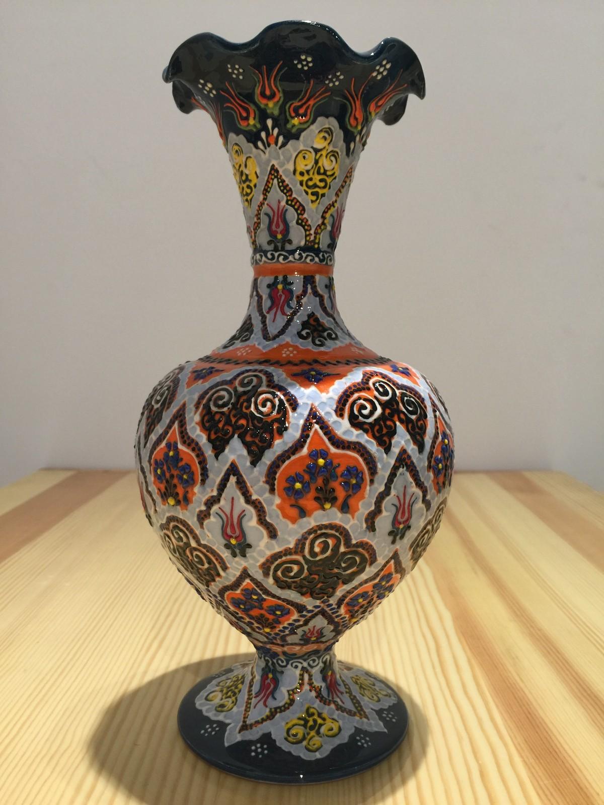 土耳其精品陶艺工艺品 家装摆件 花瓶图片五