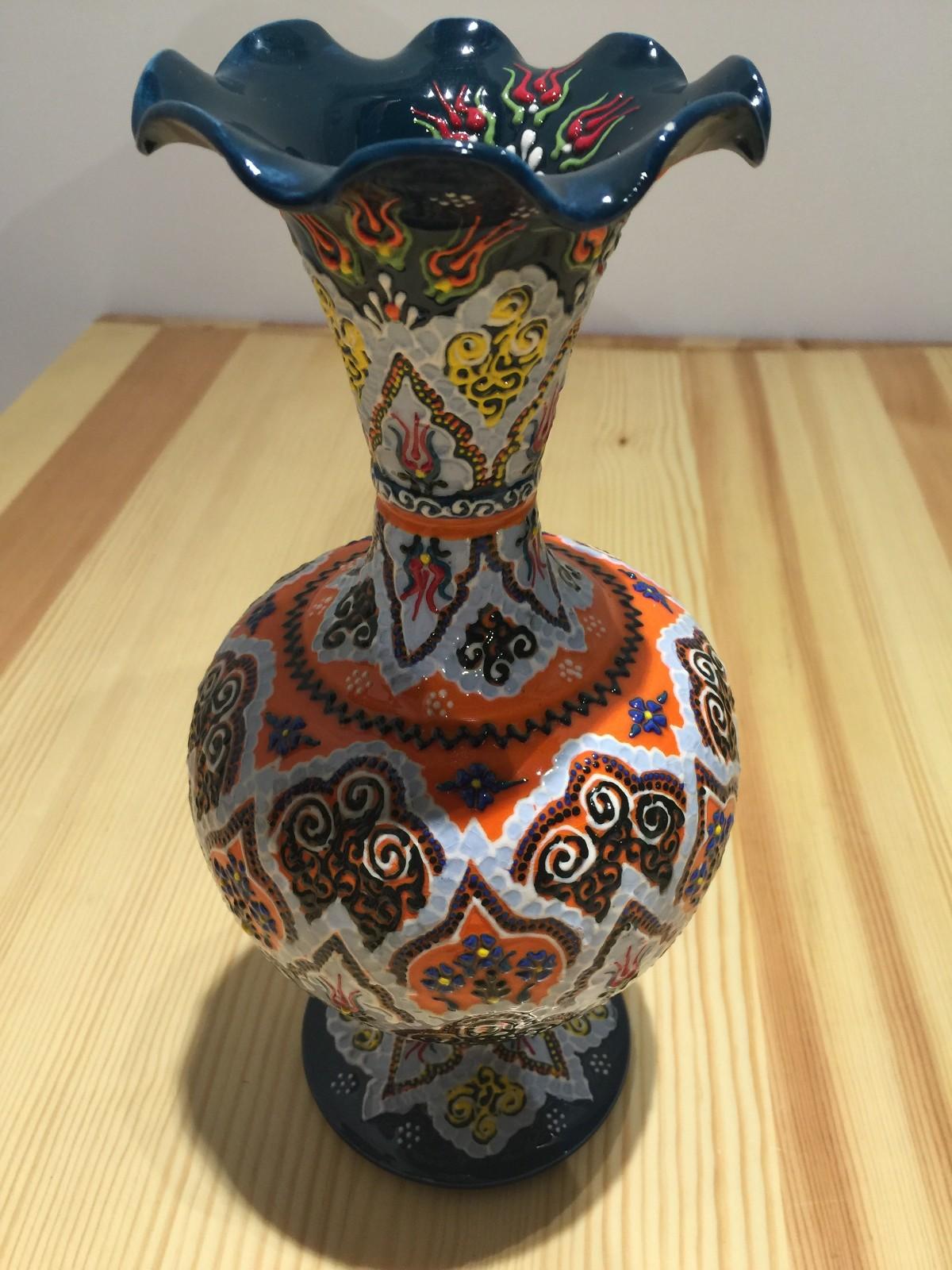 土耳其精品陶艺工艺品 家装摆件 花瓶图片六