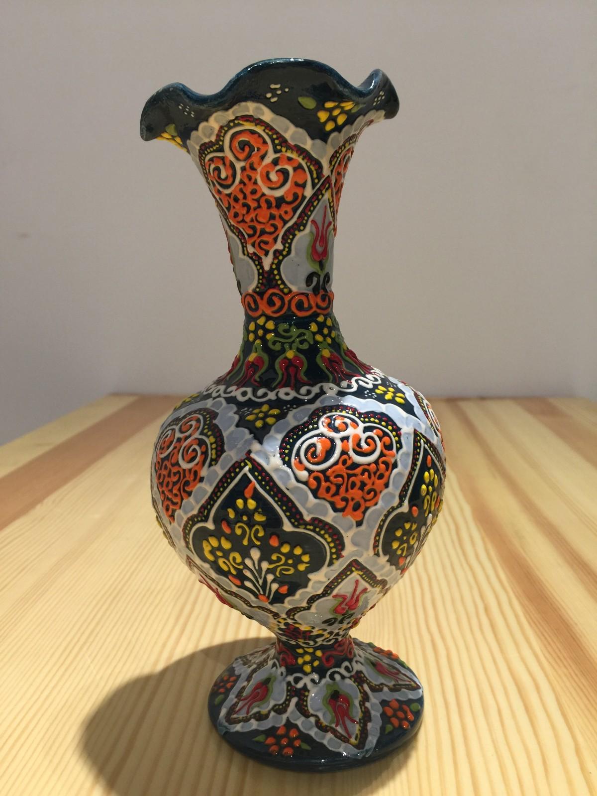 土耳其精品陶艺工艺品 家装摆件 花瓶图片八