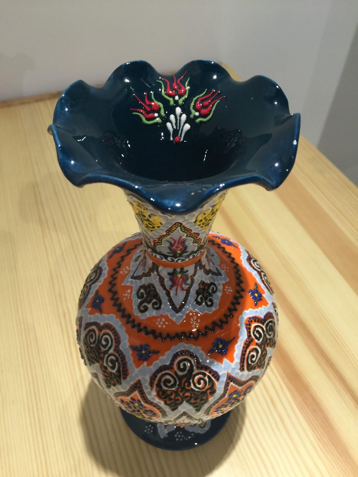 土耳其精品陶艺工艺品 家装摆件 花瓶图片七