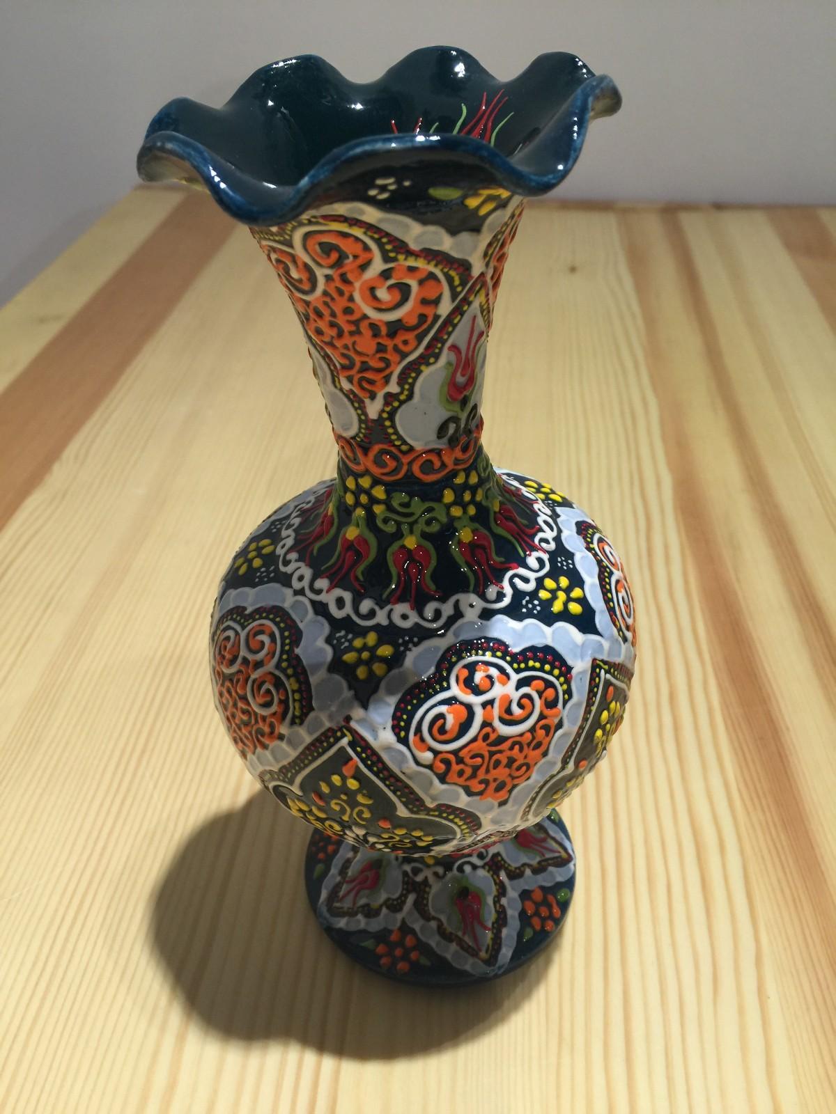 土耳其精品陶艺工艺品 家装摆件 花瓶图片九