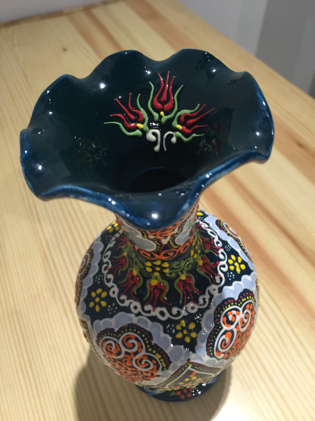 土耳其精品陶艺工艺品 家装摆件 花瓶图片十