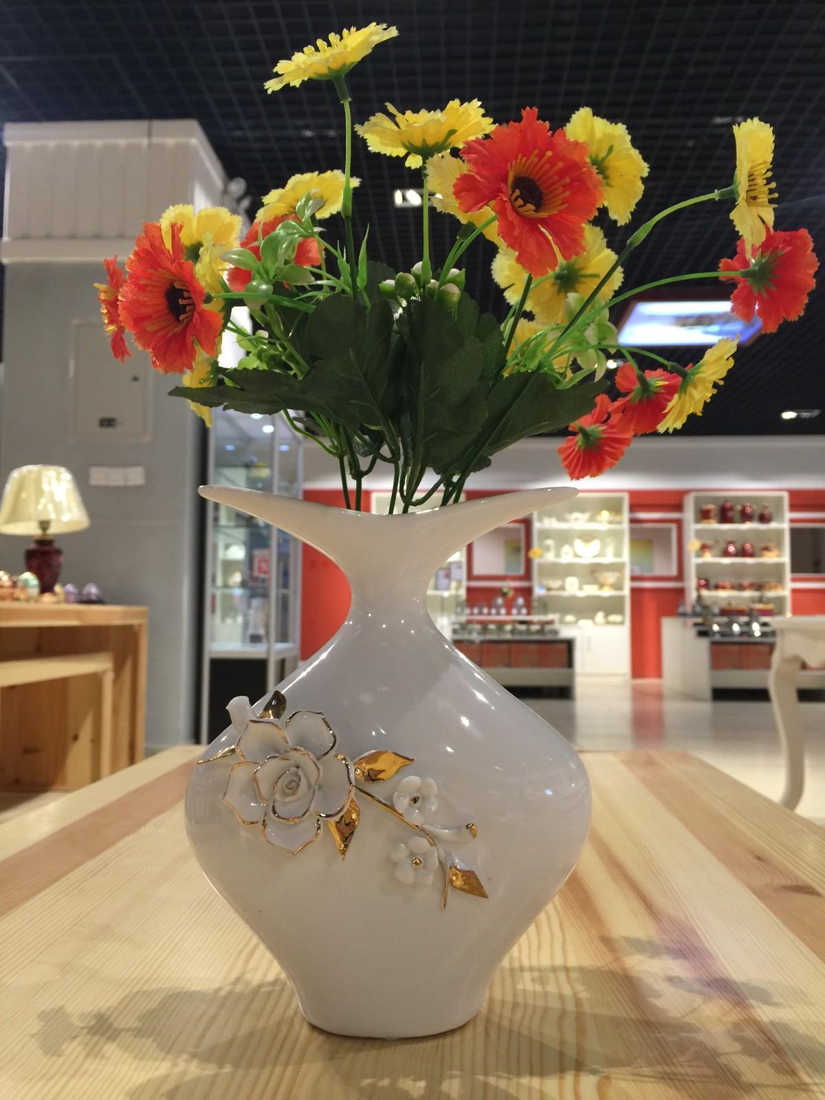 俄罗斯陶瓷工艺品 艺术花瓶图片三