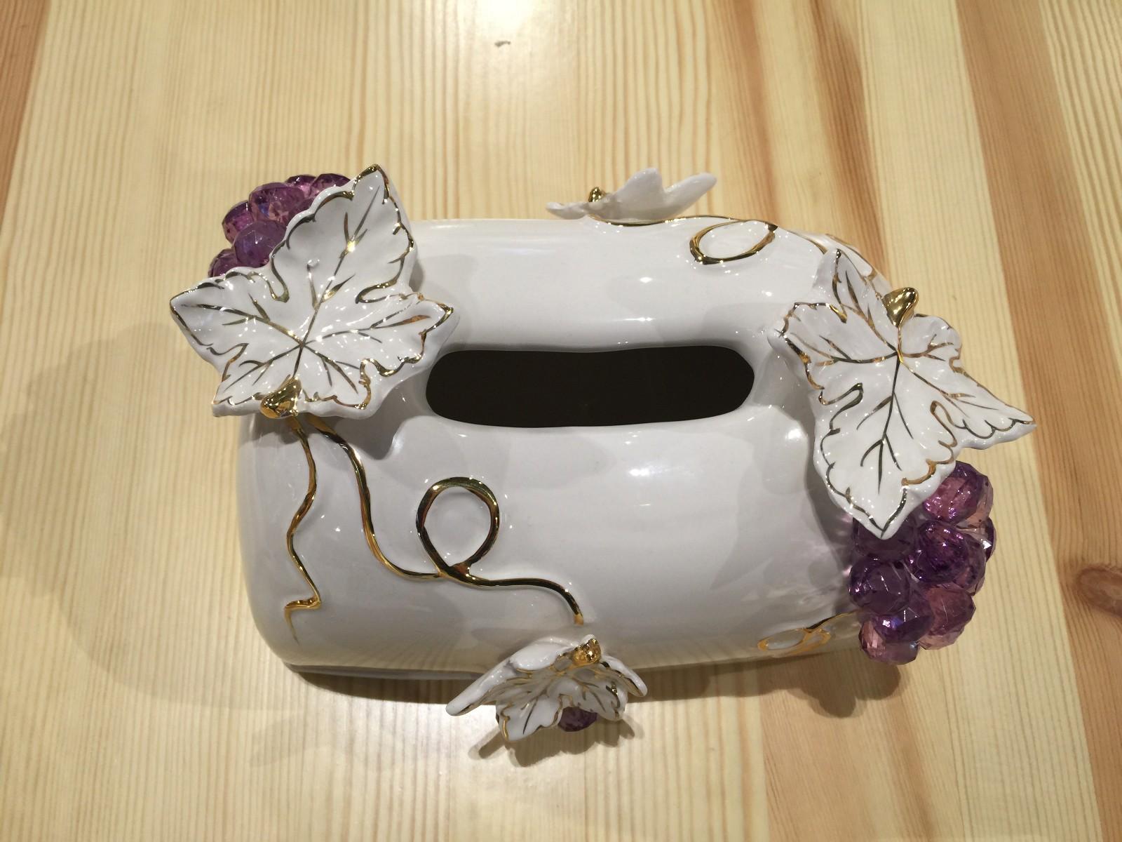 俄罗斯 纸巾盒 家具 装饰摆件图片四