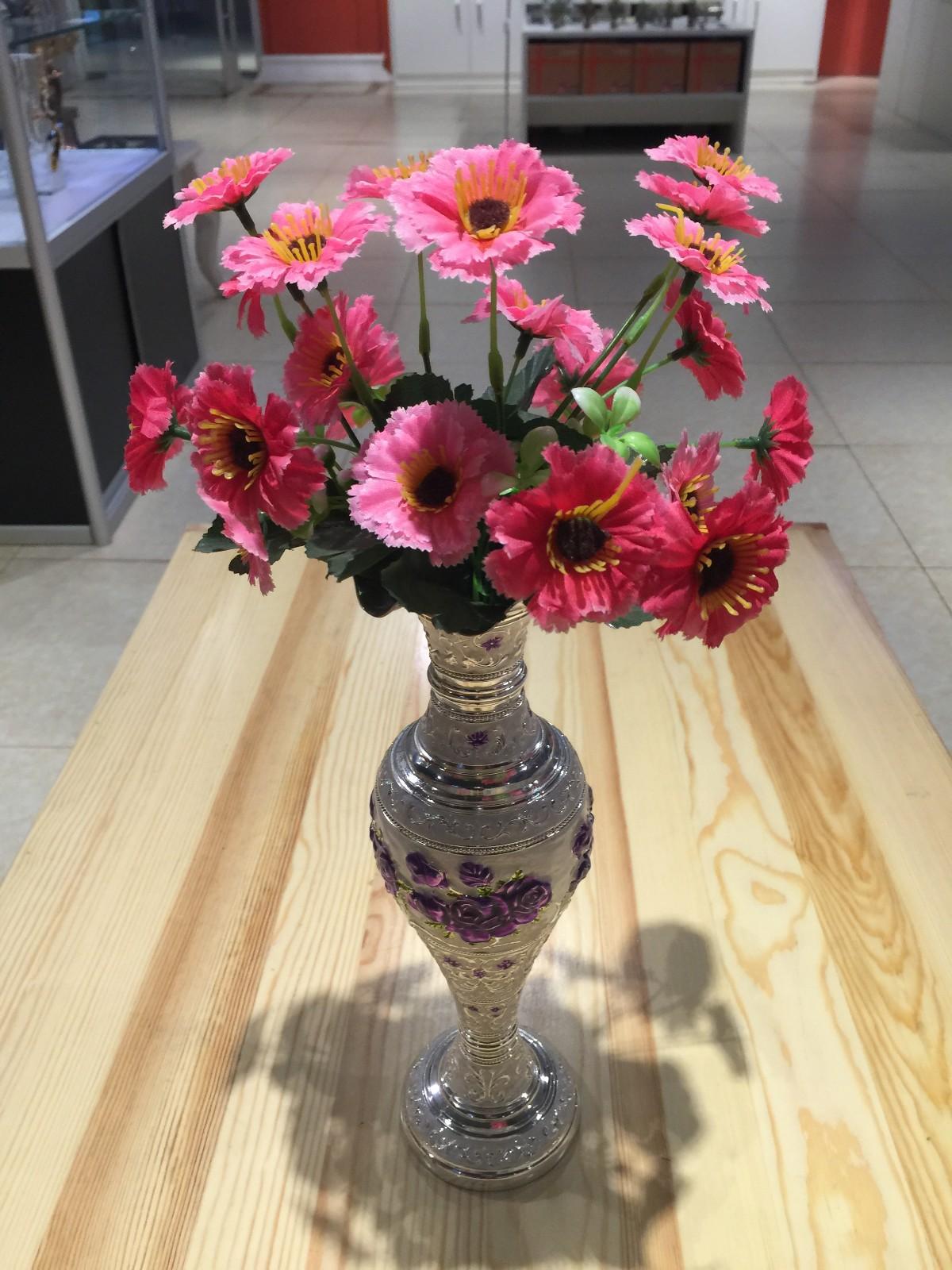 俄罗斯进口工艺品 珐琅花瓶 工艺品 家居装饰图片二