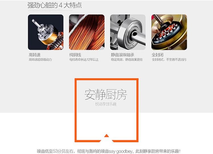 新飞(Frestec)6015侧吸式抽油烟机 超薄图片四