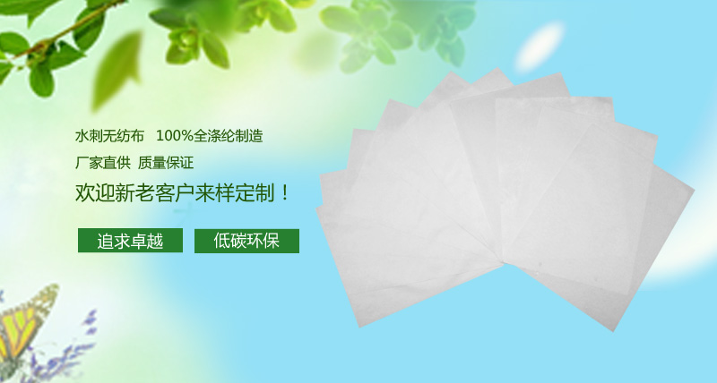 【团购】20g涤纶亲水无纺布1020S图片一