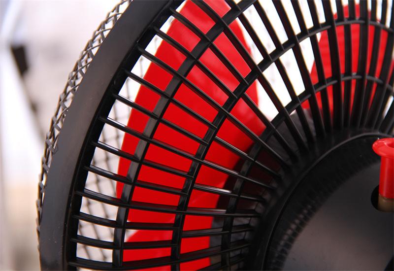 创意甲虫卧室摇头扇桌面电风扇小型台扇转页扇图片九