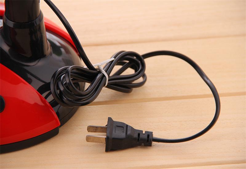 创意甲虫卧室摇头扇桌面电风扇小型台扇转页扇图片十三
