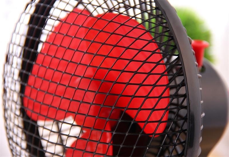 创意甲虫卧室摇头扇桌面电风扇小型台扇转页扇图片十二