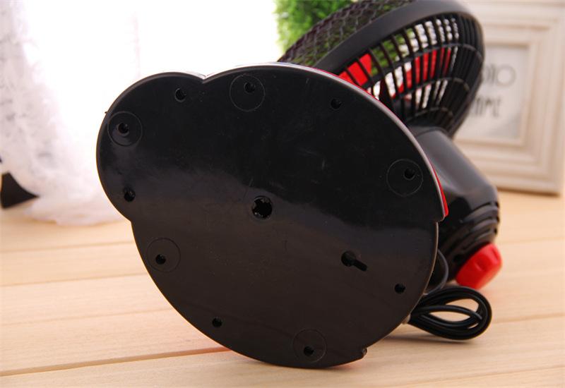 创意甲虫卧室摇头扇桌面电风扇小型台扇转页扇图片十四